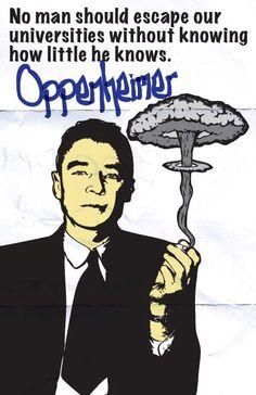 J Robert Oppenheimer Print 11x17  Famous Seniors by senioritis, $15.00