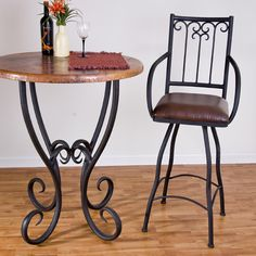 Toscana Bar Stool & Counter Stool - Great for your entertaining space in your Tuscan home, $390.00