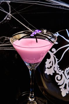Spider's Kiss #drinks #cocktails #drinkrecipes