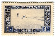 Stamp from Algeria