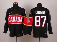 NHL Winter Olympics Canada Hockey Jerseys 17