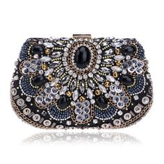 b6959a26d933 bags beaded Picture - More Detailed Picture about SEKUSA women evening bags  beaded wedding handbags clutch purse evening bag for wedding day clutches  ...