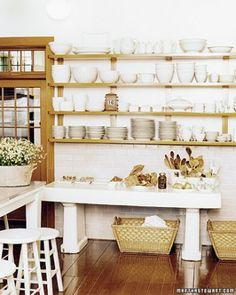 Martha Stewart : Skylands Kitchen : Photo by Chuck Baker