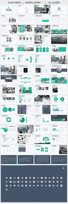 Startup Company Pitch Deck Powerpoint Template  Pitch Startups