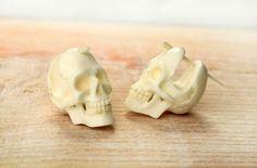 Skull earings