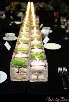 Dekoracja stołu weselnego !