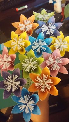 Easy paper origami flowers crafts paper pinterest origami easy paper origami flowers crafts paper pinterest origami flower and easy mightylinksfo