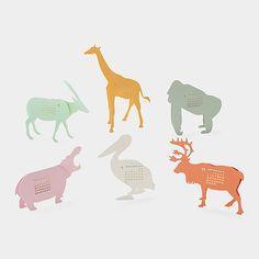 2016 Safari Calendar | MoMAstore.org