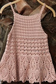 ergahandmade: Crochet girl dress + Diagrams