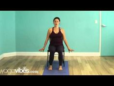 Release Neck Tension - Chair Yoga Video by YogaVibes 5 mins) Loved this for neck tension. Best Yoga Videos, Free Yoga Videos, Senior Fitness, Yoga Fitness, Neck Exercises, Online Yoga Classes, Chair Yoga, Vinyasa Yoga, Yoga Routine