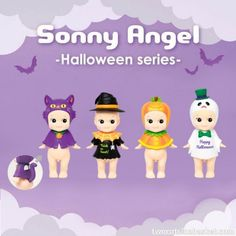 Sonny Angel Halloween Serie 2014 - Two Cats in a Basket ®