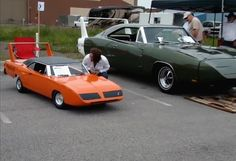 The 1/2 scale 1970 Plymouth Roadrunner Superbird