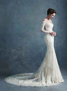 Sirena Aurora Manga Larga | Di que sí novias, Outlet de vestidos de novia