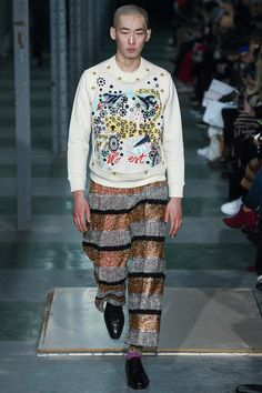 Walter Van Beirendonck Fall 2016 Menswear Fashion Show
