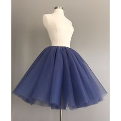 Tulle Skirt Amethyst Tutu Adult Bachelorette Tutu Violet Tulle... ($55) ❤ liked on Polyvore featuring skirts, grey, women's clothing, gray tulle skirt, high-low skirt, grey skirt, high-waist skirt and knee length skirts