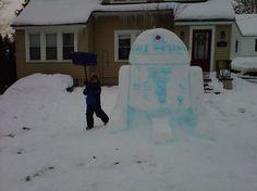 L'art du bonhomme de neige - SlyGeek