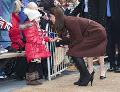 Pin for Later: 38 Snaps of Kate Middleton With Little Girls That Are Sure to Make Your Heart Explode She bent down to greet a little girl during a solo trip to the Alder Hey Children's Hospital in Liverpool, England, back in February 2012.