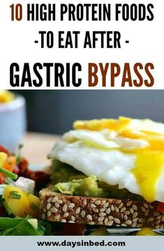 High Protein Foods For Gastric Bypass Patients - my list of healthy foods High Protein Snacks, High Protein Foods List, High Protein Recipes, Healthy Recipes, Healthy Breakfasts, Healthy Snacks, Diabetic Recipes, Fat Foods, Foods To Eat