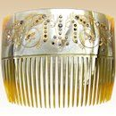 https://www.rubylane.com/item/857424-DUP18-03-060/Edwardian-celluloid-hair-comb-rhinestones-hair#