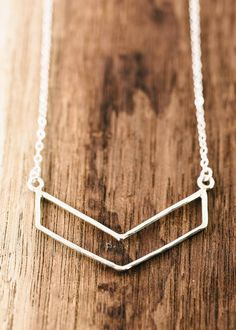 Kaimalie necklace - small silver chevron necklace, sterling silver chevron necklace, layered necklace, modern strand necklace, maui, hawaii, kealohajewelry