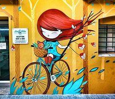 Photo – Graffiti World Mural Wall Art, Mural Painting, Diy Painting, Wall Art Decor, Graffiti Art, Murals Street Art, Colorful Paintings, Funny Art, Tag Art