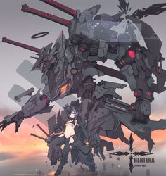 Faceless Rigell Hentera ART by syaha Arte Gundam, Gundam Art, Robot Concept Art, Weapon Concept Art, Character Concept, Character Art, Character Inspiration, Guerra Anime, Pixiv Fantasia