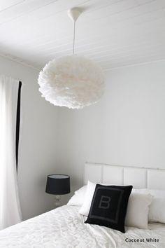 Höyhenen keveitä unia tiedossa - makuuhuoneen uusi valaisin