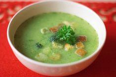 Brokolicová s krutónami - Tinkine recepty