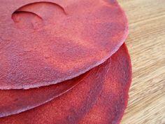 Rhubarb Leather