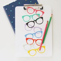 Glasses Clipboard