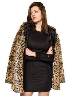 SHARE & Get it FREE | Leopard Print Hooded Faux Fur CoatFor Fashion Lovers only:80,000+ Items • New Arrivals Daily Join Zaful: Get YOUR $50 NOW!