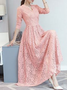 Stylish Modest Dresses & Skirts for Any Price Range Modest Dresses For Women, Modest Dresses Casual, Edgy Dress, Modest Outfits, Cute Dresses, Lace Dress, Clothes For Women, Casual Gowns, Frock Patterns