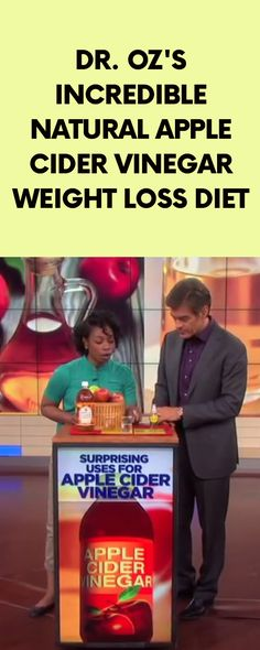 [ad] Dr. Oz's Incredible Natural Apple Cider Vinegar Weight Loss Diet
