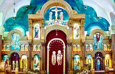 كنيسة القديس الانبا اثناسيوس الرسولي السيوف اسكندرية Religious Art, Barcelona Cathedral, Jesus Christ, Lord, Icons, Lds Art, Ikon, Hymn Art, Icon Set