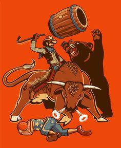 Awesome Illustrations by Leon Ryan | Abduzeedo Design Inspiration & Tutorials