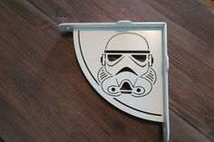 2x Stormtrooper shelf bracket 2 brackets for complete shelf