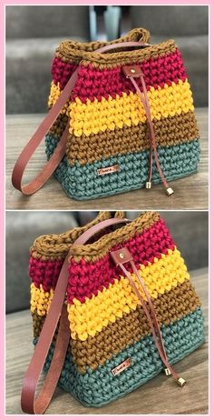 60 New And Stylish Designs Of Crochet Free Patterns 60 New And Stylish Designs Of Crochet Free Patterns,crochet handbags Multicolor Hand Bag Crochet Free pattern Related posts:Haken Slippers to Make – Crochet. Bag Crochet, Crochet Handbags, Crochet Purses, Crochet Crafts, Crochet Clothes, Crochet Baby, Crochet Projects, Crochet Ideas, Diy Crafts
