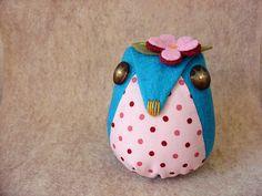 Felt. by boxsquare., via Flickr - Cute Owl