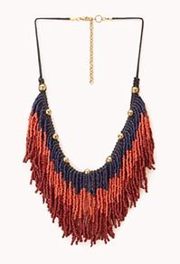 { Down-To-Earth Beaded Necklace }
