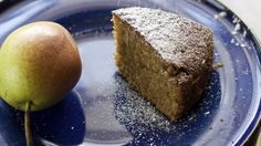 Delicious - Moist - a real treat - sweet taste and texture  of pear - my family love it! It's more a dessert cake rather than a cake for tea.