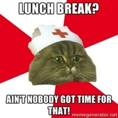 Lunch Break? Nursing Humor