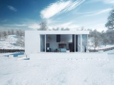 Slanted House by Michal Nowak (4)
