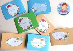 Geboortekaartjes maken 3, thema baby, kleuteridee.nl, Kindergarten baby theme