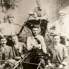 1900s bicycle club