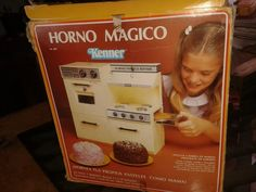 Mercado Libre® Los listados de Horno Mágico [Foto: Lily-Ledy S.N.C. S.A. de C.V.® Kenner® Horno Mágico™ ©1969]