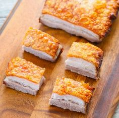 Crispy Golden Pork Belly - Kirbie's Cravings