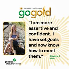 Cheyenne C. from Salem earned her Girl Scout Gold Award for restoring a historic cemetery.