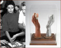 Kent Twitchell, Michael Jackson's Hands
