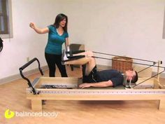 Pilates lengthening the IT band, to prevent knee injury in athletes