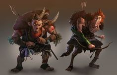 Characterssoao by MikeAzevedo on DeviantArt